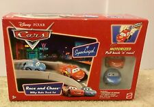 Disney Pixar Cars Race and Chase Motorized Willys Butte Track Set  NIP