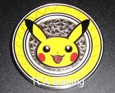 2017 PIKACHU Metal Coin Premium Trainer's Kit XY Pokemon Collection Box