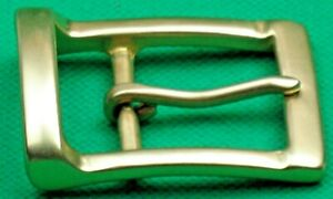 """Belt Buckle """"SOLID BRASS PIN BELT BUCKLE"""" 4 cm Wide Belt, DIY, Casting for Belt!"""