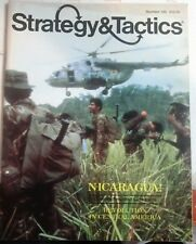 STRATEGY & TACTICS 120 NICARAUGA-REVOLUTION in CENTRAl AMERICA-New/UNPUNCHED