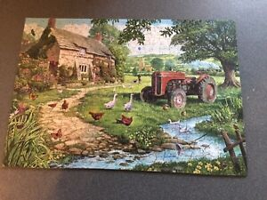 Wentworth - The Old Tractor (551202) 250pieces Wooden jigsaw puzzle