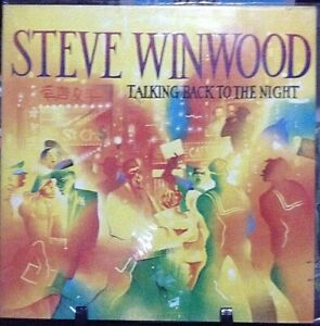 STEVE WINWOOD Talking Back to the Night Album Released 1982 Vinyl UK/HK Press