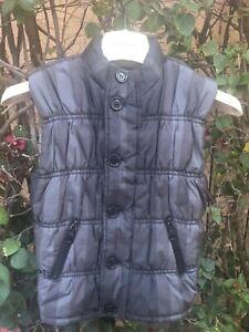 Burberry Nova check Sleeveless Jacket Button Down Puffer   Vest 8 / 6