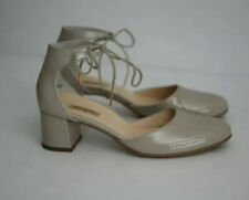 Anthropologie Paul Green Pump Greige Patent Leather 8US 5.5UK $345