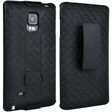 10X Samsung Galaxy Note 4  Edge Shell/Holster Combo Case with Kickstan