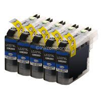5 für BROTHER BLACK XL LC223 LC227 DCP-J4120 MFC-J4420 J4620 J5320 J5620 J5720DW