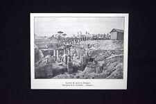 Lavori di scavo a Pompei