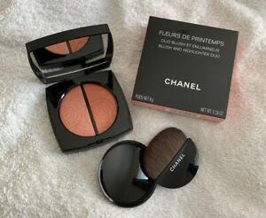 Chanel Fleurs De Printemps Blush And Highlighter Limited Edition NEW 100% Auth