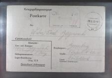 Camp Oflag XIB Braunschweig 1940 POW Prisoner of War Kriegsgefangenenpost (K1)