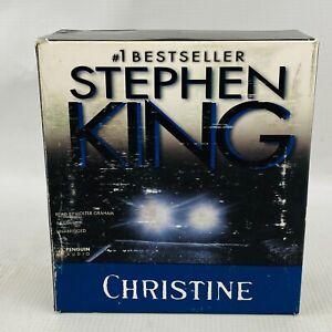 Christine CD Audiobook 16 Disc Set Stephen King Unabridged Complete