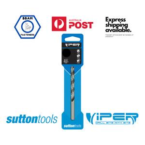 High Speed Steel Jobber Viper Drill Bits Sutton Tools 2 3 4 5 6 6.5 7 8 9 10 11