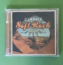CLASSIC SOFT ROCK | MORE THAN A FEELING | TIME LIFE | DISC CD | VGC |