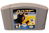 007 The World Is Not Enough Nintendo 64 N64 Game