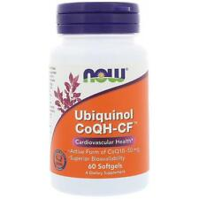 Ubiquinol CoQH-CF 60 Softgels NOW Foods