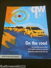 QUALITY WORLD - THE AUTOMOTIVE INDUSTRY - APRIL 2007