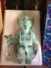 1000% Kubrick Unkle Blue Camo WOW HUGE rare medicom MO WAX worldwide 100LTD NEW