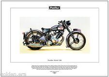 PANTHER MODEL 100 - Classic Motorcycle Fine Art Print - 600cc  P & M  Motorbike