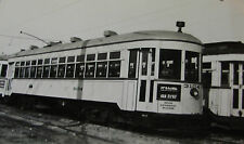 USA258 - CITY of DETROIT STREET RAILWAY TROLLEY CAR No3104 PHOTO - Michigan USA