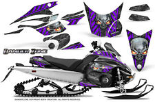 Yamaha FX Nytro 08-14 Graphics Kit CreatorX Snowmobile Sled Decals Wrap DZPR