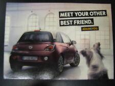 Opel Adam, Meet your other best friend Ansichtkaart