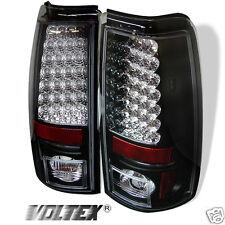 2004-2006 GMC SIERRA 1500 2500 3500 LED TAIL LIGHT BAR LIGHTBAR LAMP BLACK