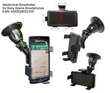 KfZ Smarthalter für Sony Xperia Arc S A X10 Arc Aspen Rachael Handy Auto Halter
