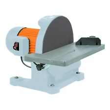 Metal Wood Disk Sander Metal Fabrication Tool 12 inches Top Disc Sanding Tool