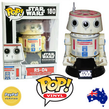 FUNKO POP Star Wars R5-D4 #180 Smugglers Bounty Exclusive Brand New In Box Droid