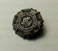 2 Typist Pins.1 Awarded by Remington Typewriter Co the other Expert Typist Pin