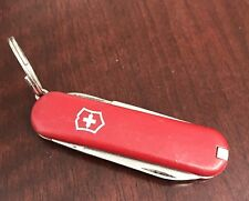 """Victorinox Swiss Army Knife 3 Functions Used 2.5"""" Victorinox Red Authentic"""
