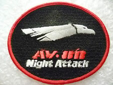 Patches- US Air Force AV- 8H Night Attack Patches (New*apx. 100x78 mm)