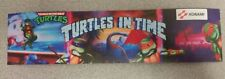 TMNT Turtles in Time marquee sticker. 2.5x10. (Buy 3 stickers, GET ONE FREE!)