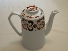 Alfred Meakin Glo-White Ironstone Large Coffee Pot 50's - 2.5pints