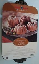 Nordic Ware Pumpkin Patch MUFFIN PAN (12) Cupcakes Thanksgiving Fall