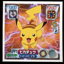 POKEMON STICKER Carte JAPANESE 50X50 2004 NORMAL N° 297 PIKACHU