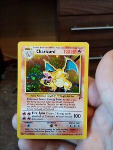 Charizard 4/130 Base Set 2 Holo Pokemon Card WOTC