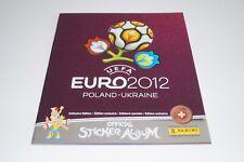 PANINI Euro 12 Polen/Ukraine 2012  - Leeralbum Platinum Edition Schweiz Neu/Rar