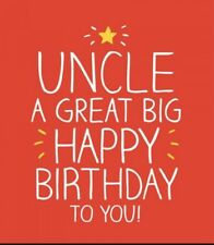 Happy Jackson Card: HAPPY BIRTHDAY UNCLE - New Cello POST DAILY