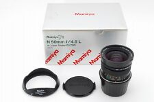 【Top Mint in Box】 Mamiya N 50mm F4.5 L MF Lens For Mamiya 7 II from Japan #347
