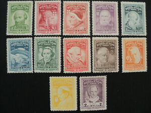 PANAMA 1956 -- Popes named Pius set - MNH !