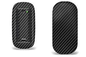 Skin Decal Wrap for Apple Magic Mouse 1 Smart Mouse Graphic Protector BLK CARBON