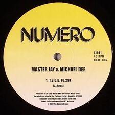 """Master Jay / Michael - T.S.O.B. / Instrumental [New 12"""" Vinyl]"""