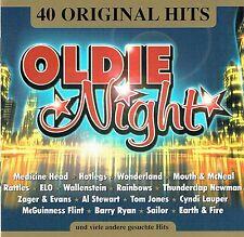 (2CD's) Oldie Night - 40 Original Hits - Wonderland, Hotlegs, Medicine Head,u.a.