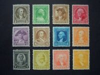 """#704-715 1932 WA-BICENTENNIAL Issues  MNH OG VF """"Includes New Mounts"""" #1"""