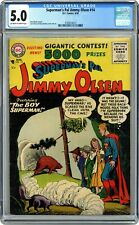 Superman's Pal Jimmy Olsen #14 CGC 5.0 1956 3709414012