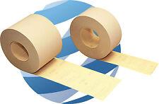 Hookit (Velcro) Abrasive Roll 115mm x 25m. Velcro backed sanding strip P240