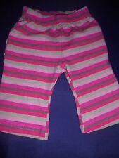 baby girls PUMPKIN PATCH stretch stripe bootleg leggings    size 000