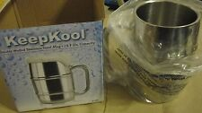 Stainless Steel Double Walled Mug - Vacuum Insulated,Large 16.9 OZ Capacity