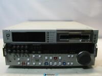 Sony DSR-2000 Digital Videocassette Studio Editing Recorder (See Notes)