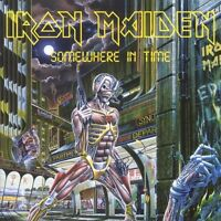 """IRON MAIDEN """"SOMEWHERE IN TIME"""" CD SPECIAL ENHANCED NEU"""